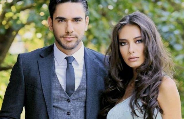Неслихан Атагюль с мужем