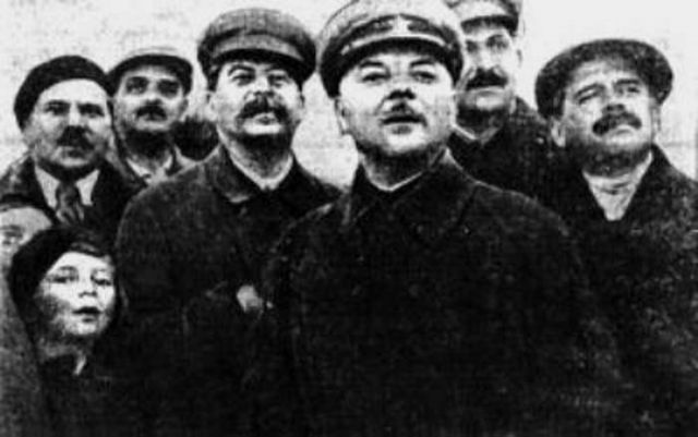 Ольга Аросева со Сталиным