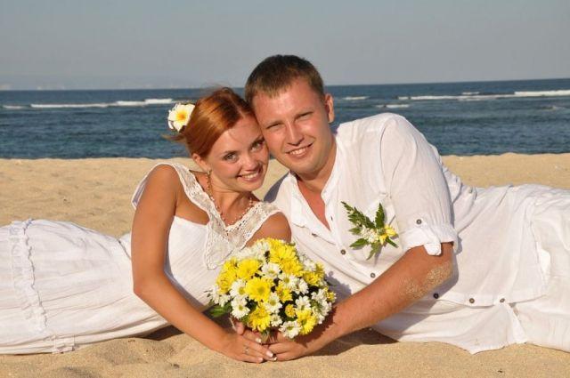 Свадьба Ольги Кузьминой
