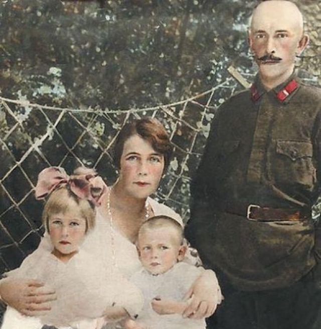 Семья Петра Вельяминова