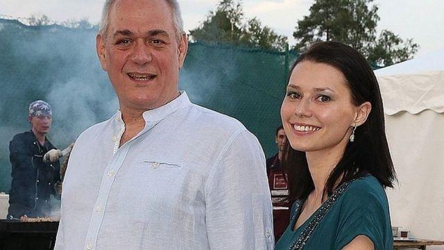 Сергей Доренко с женой