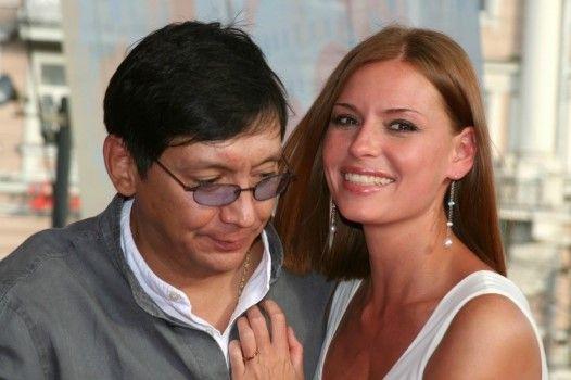 Кончаловский с бывшей женой Любовью Толкалиной