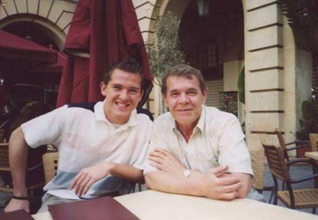 Алексей Булдаков с сыном