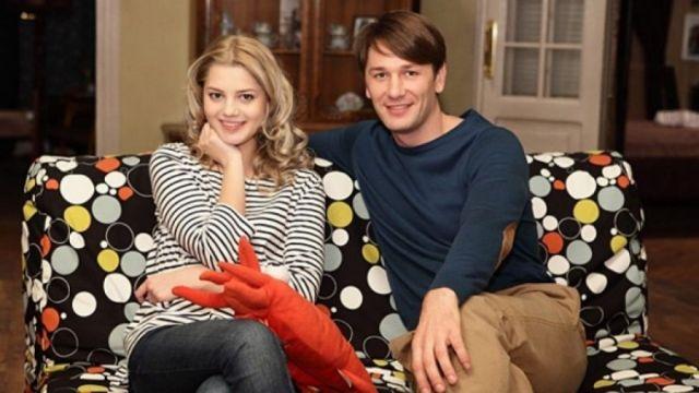 Александр Константинов с женой