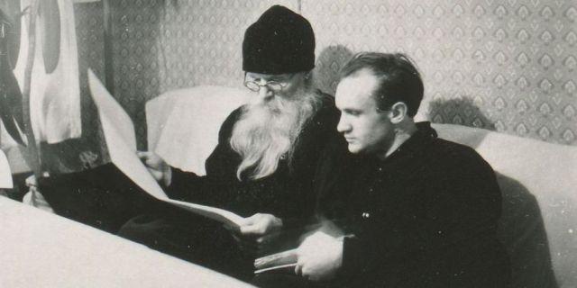 Алексей Осипов и игумен Никон