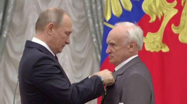 Алексей Ильич Осипов и Владимир Путин