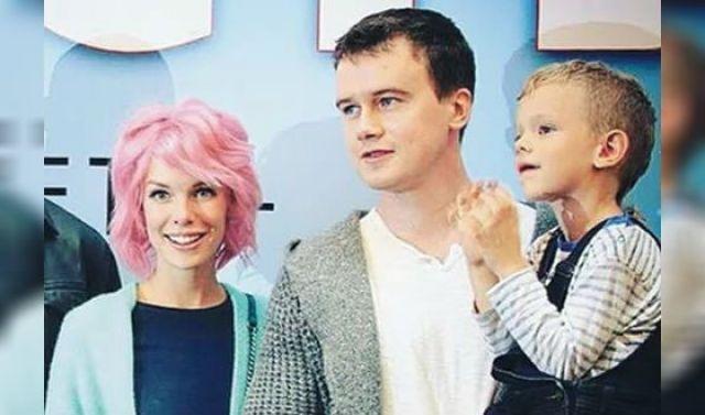 Анна Старшенбаум с семьей