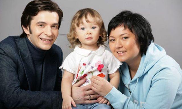 Андрей Курпатов с семьей