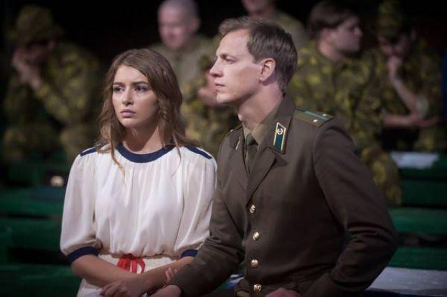 Екатерина Тышкевич в сериале «Ничто не случается дважды»