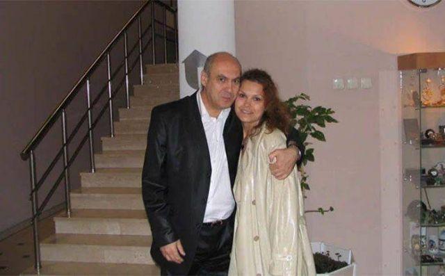 Ян Арлазоров с дочерью
