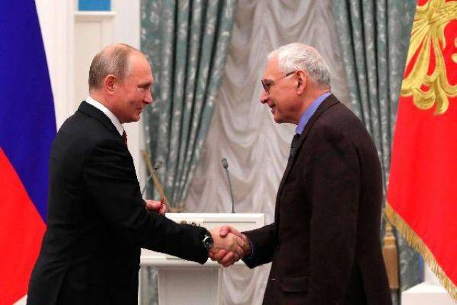 Путин и Шахназаров