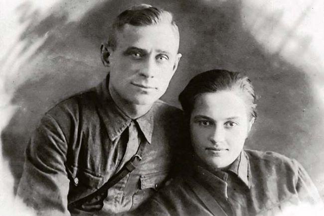Людмила Павлюченко с мужем