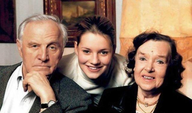Михаил Ульянов и его семья