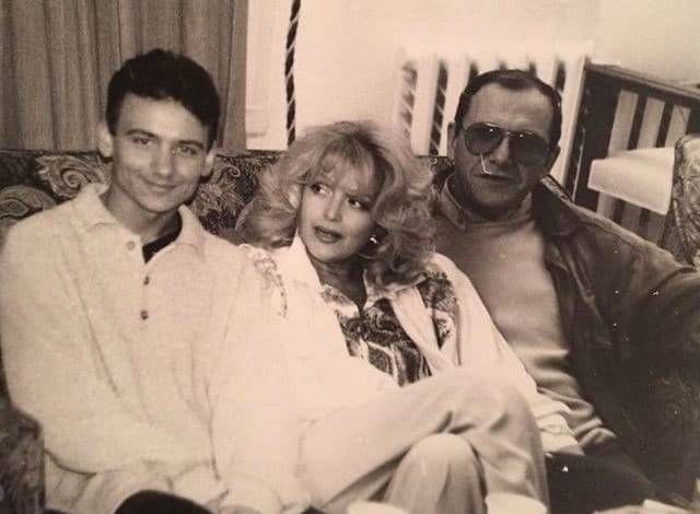 Максим Виторган с родителями