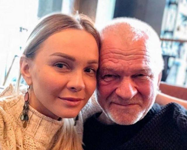 Наталья Варвина с отцом