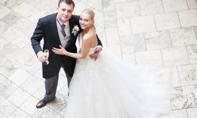 Наталья Варвина с мужем