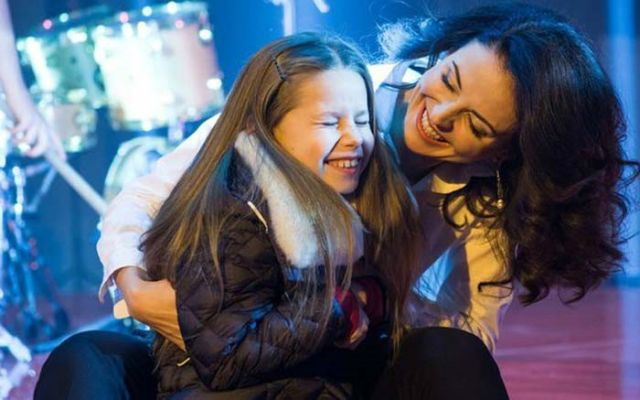 Наталья Власова с дочерью Пелагеей