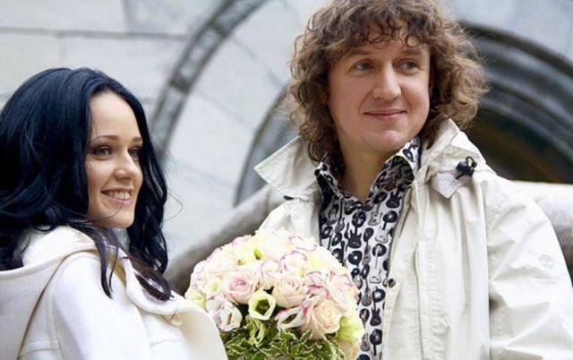Женя Щелкова с мужем