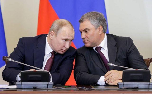 Вячеслав Володин и Путин
