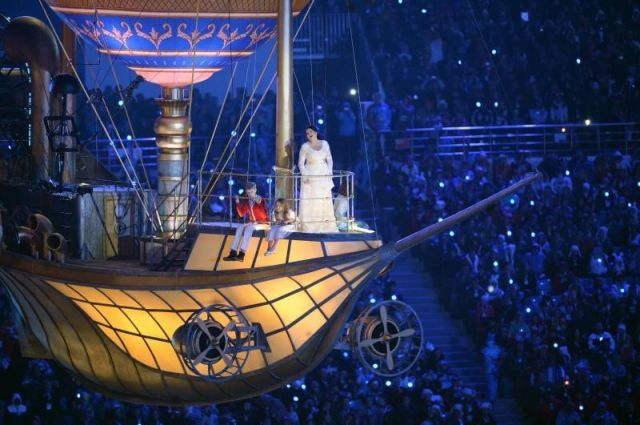 Летучий корабль для Олимпиады в Сочи