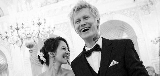 Антон Лиссов со второй женой