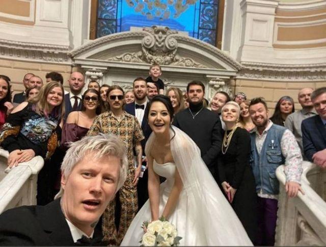 Свадьба Антона Лиссова и Анжелики Ивановой