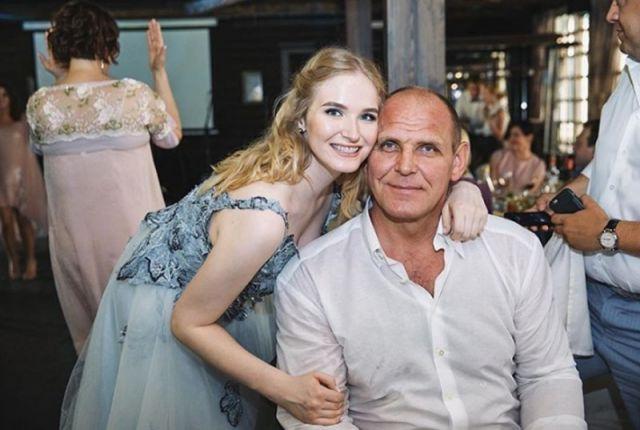 Александр с дочерью Василисой