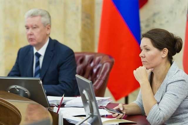 Анастасия Ракова с Сергеем Собяниным