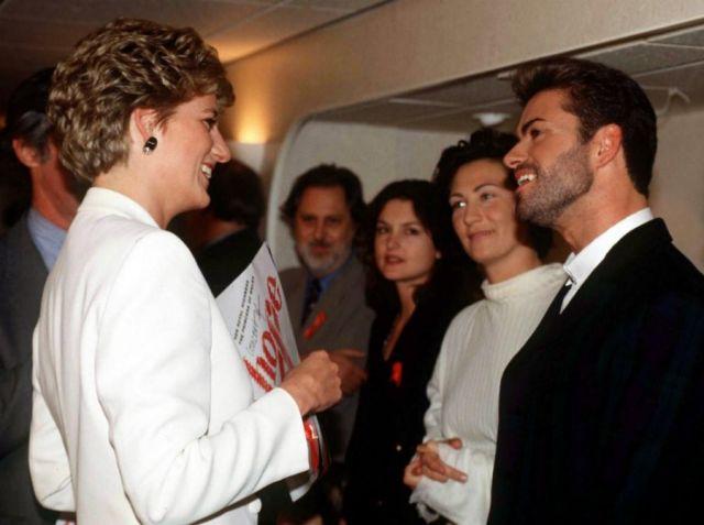 Джордж Майкл и принцесса Диана
