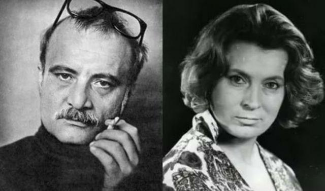 Георгий Данелия и Любовь Соколова