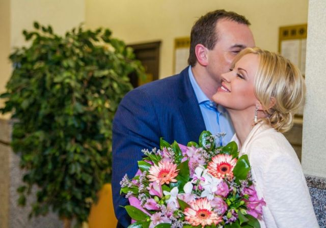 Ирина Ортман с мужем
