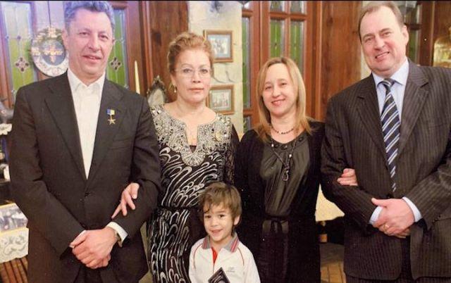 Юрий Бойко с женой