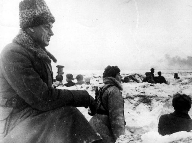 Рокоссовский под Сталинградом во время войны
