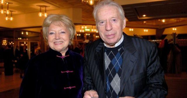 Людмила Касаткина с мужем