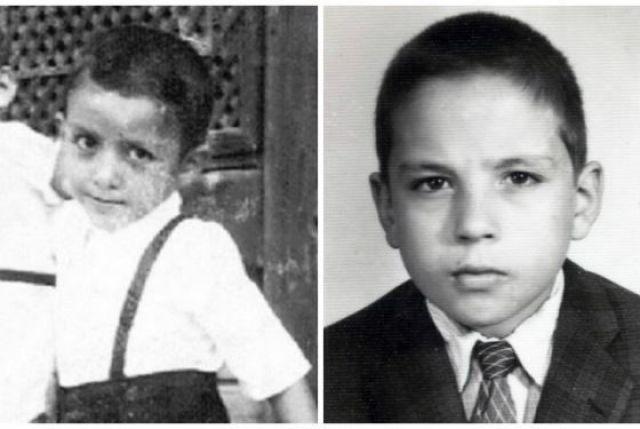 Реджеп Эрдоган в детстве
