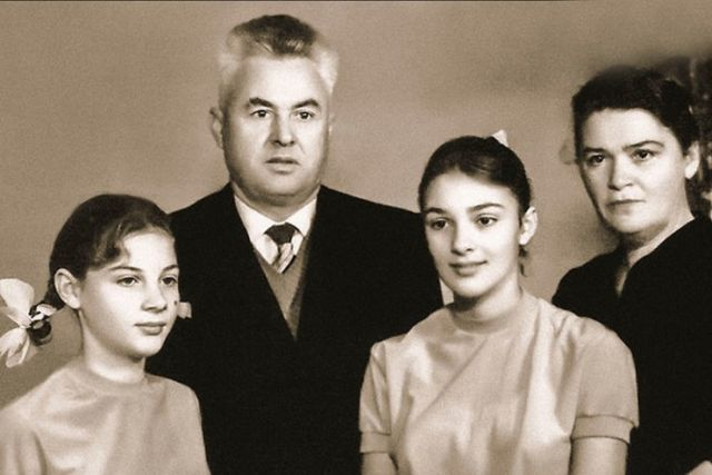 Семья Светланы Тома