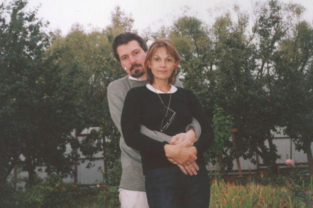 Светлана Тома с Андреем Вишневским