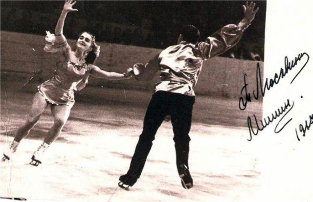 Тамара Москвина в парном танце с Мишиным