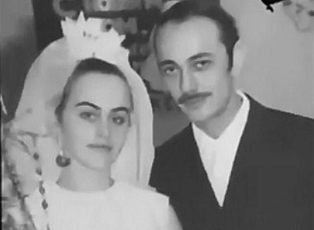 Алла Данько с первым мужем