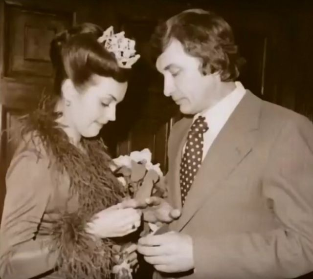 А. Г. Данько со вторым супругом