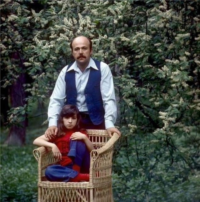 Александр Калягин с дочерью