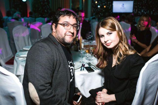 Анна Цуканова-Котт с мужем