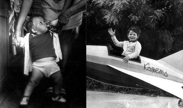 Даниил Спиваковский в детстве
