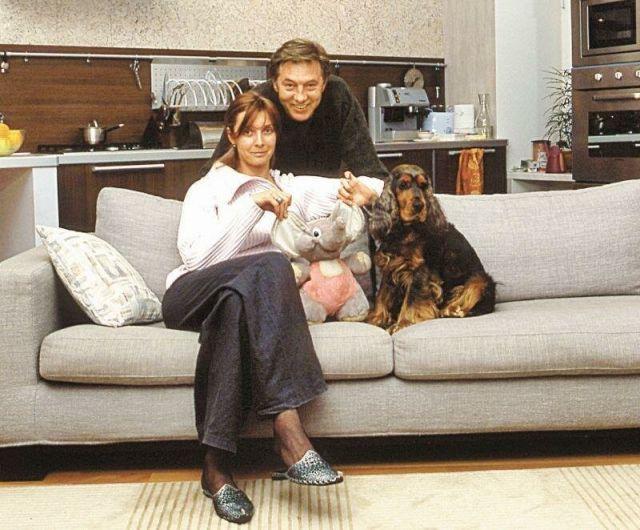 Евгений Меньшов с женой