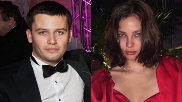 Георгий Петришин и Алеся Кафельникова