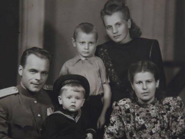 Михаил Барышников в детстве