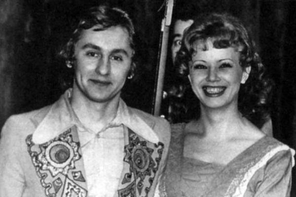 Сергей Беликов с женой