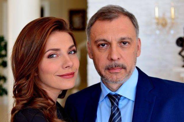 Сергей Чонишвили с женой