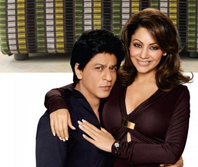 Шахрукх Кхан с женой