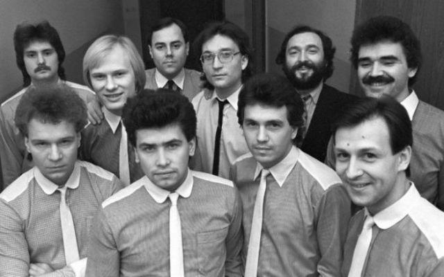Валерий Кипелов с группой «Шестеро молодых»